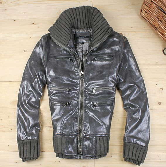 bb93b8be3302 veste dolce gabbana style cuir